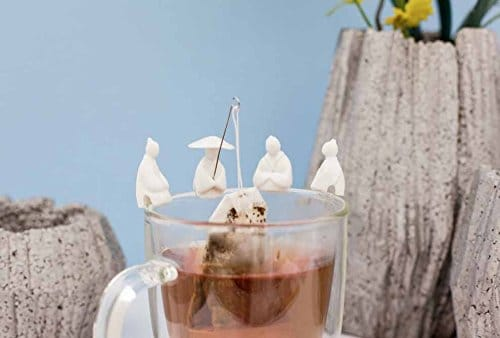 Ancient Wise Man Tea Bag Holder