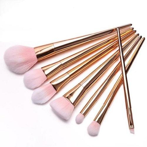 Rose Gold Makeup Brush