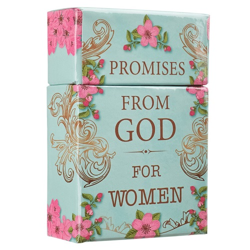 """""""Promises From God for Women"""" Cards - A Box of Blessings"""