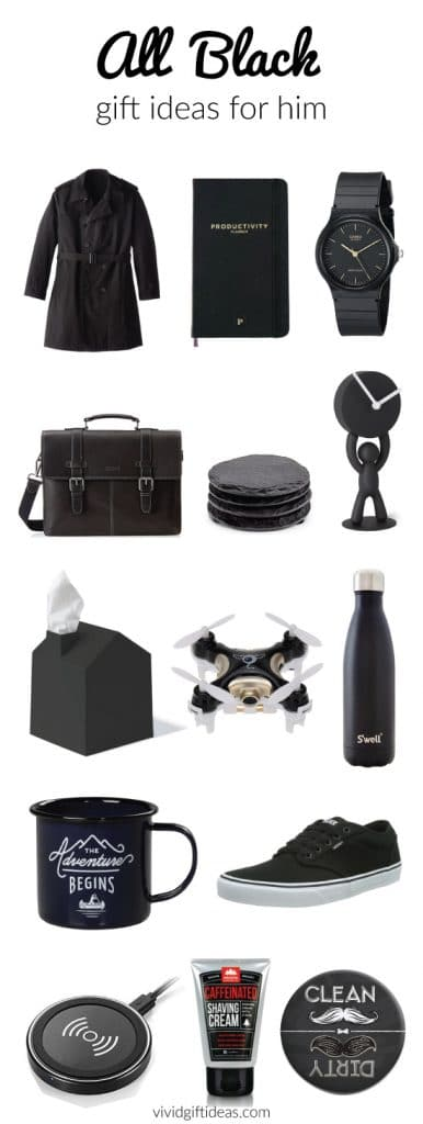 best black gifts for him