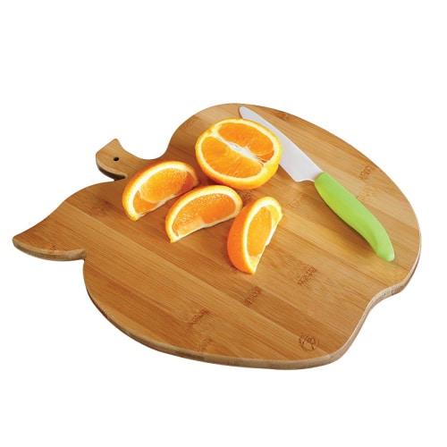 Apple Bamboo Cutting Board