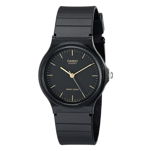 Casio Men's Black Resin Watch