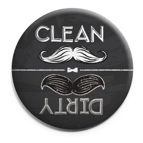 Mustache Dishwasher Magnet
