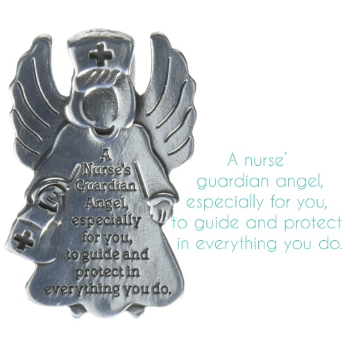 Nurse Guardian Angel Visor Clip