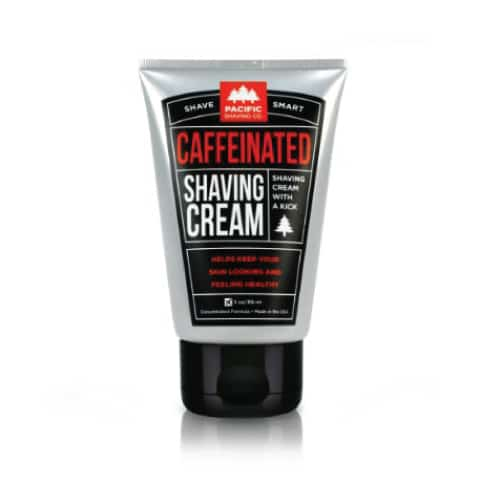 Caffeinated Shaving Cream