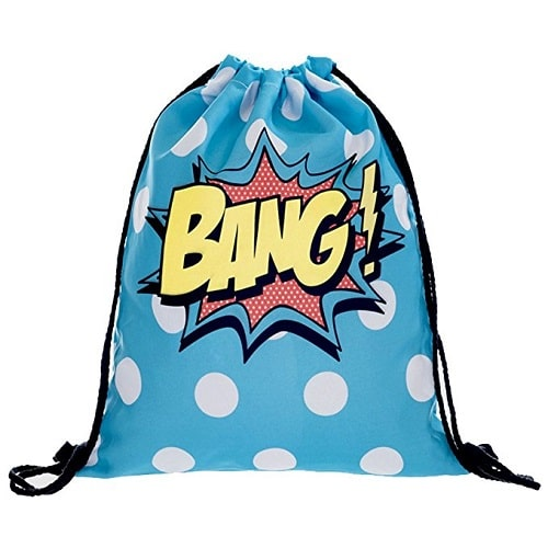 Bang Drawstring Backpack