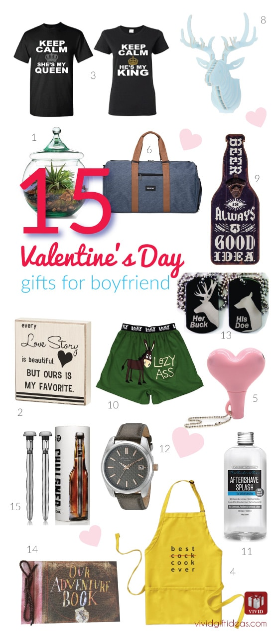 15 valentine 39 s day gift ideas for your boyfriend vivid 39 s Valentines gift for boyfriend