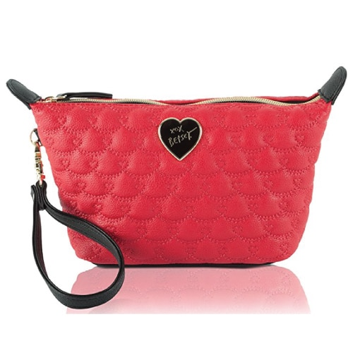 Betsey Johnson Be Mine Wristlet Pouch