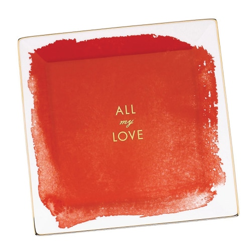 kate spade All My Love Tray