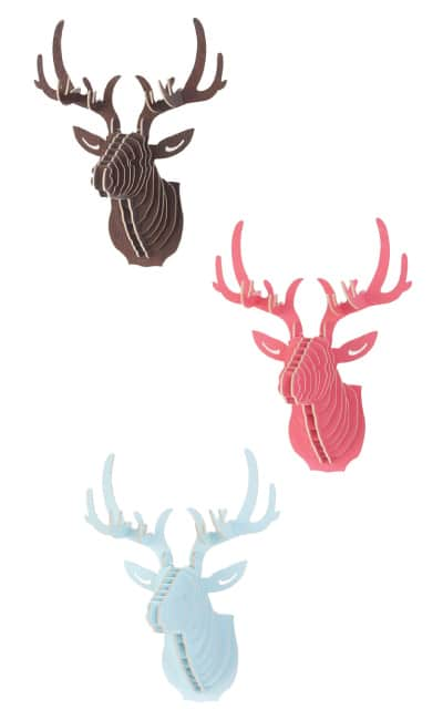 3D Puzzle Deer Head Wall Decor