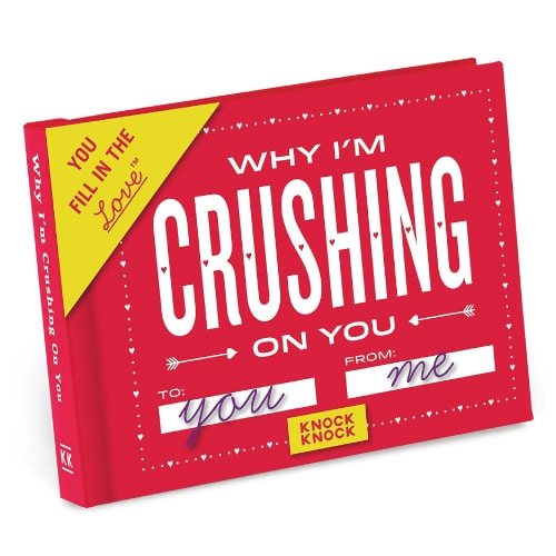 Why I'm Crushing on You Fill in the Love Journal Valentine's Day Gift