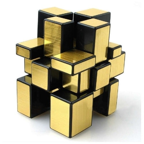 Gold Cube Puzzle