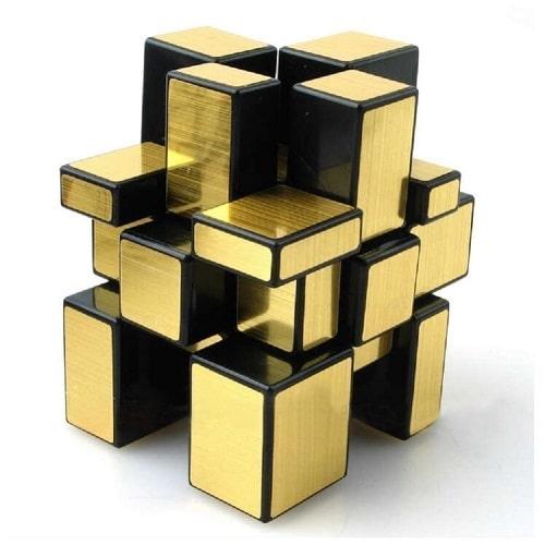 Gold Cube Puzzle