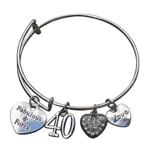 40th Birthday Bracelet