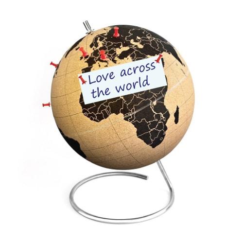 Desktop Cork Globe