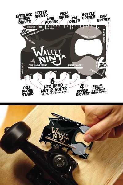 Multi-purpose Credit Card Size Pocket Tool