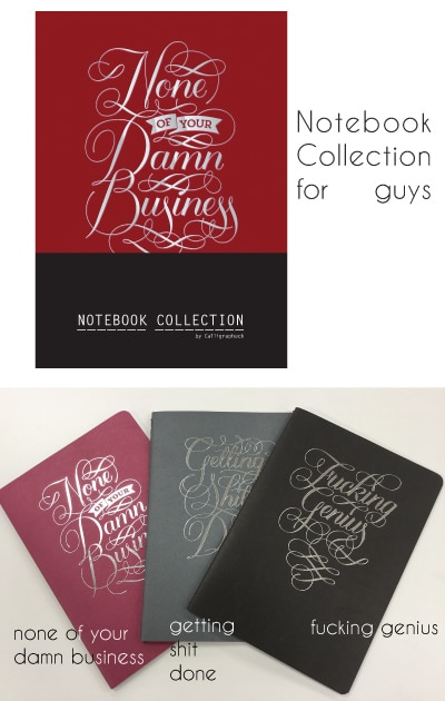 Notebook Collection for Guys