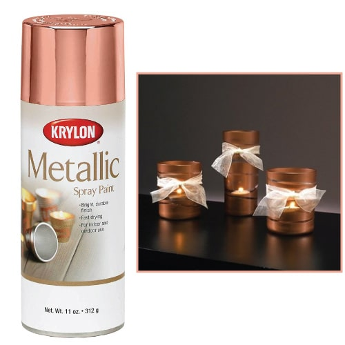 Krylon Rose Gold Metallic Paint