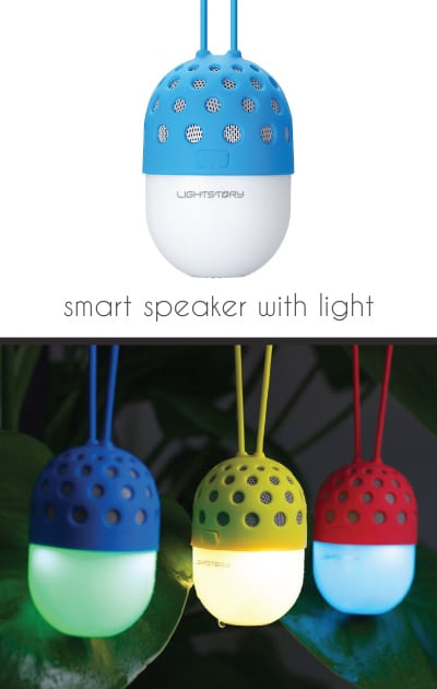 LIGHTSTORY Firefly LED Wireless Speaker