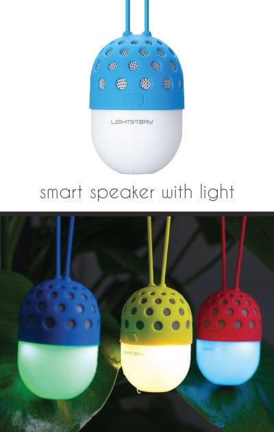 LIGHTSTORY Firefly LED Wireless Speaker