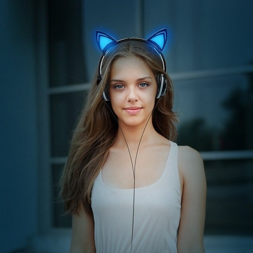 birthday gift ideas for teen girls cat ear headphones