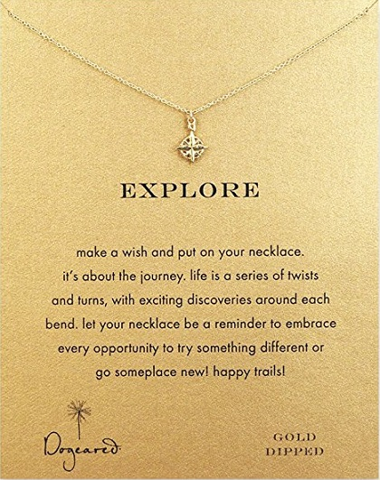 birthday gift ideas for teen girls dogeared explore compass necklace