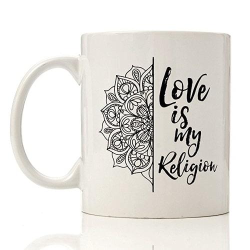 Love Is My Religion Mug