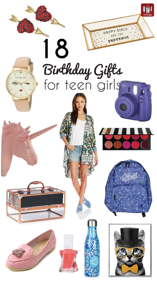 Best Birthday Gift Ideas for Teen Girls - Vivid's