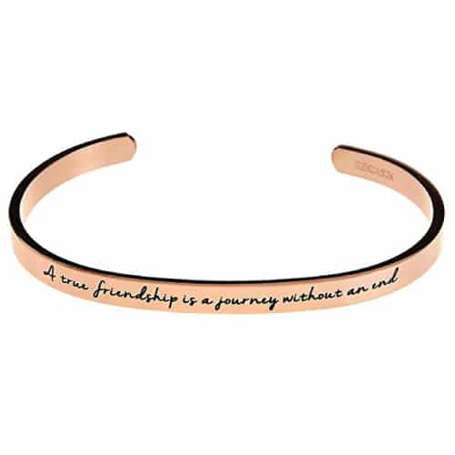 A True Friendship Bangle Bracelet