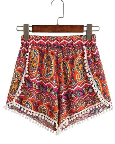 Summer Chambray Beach Shorts