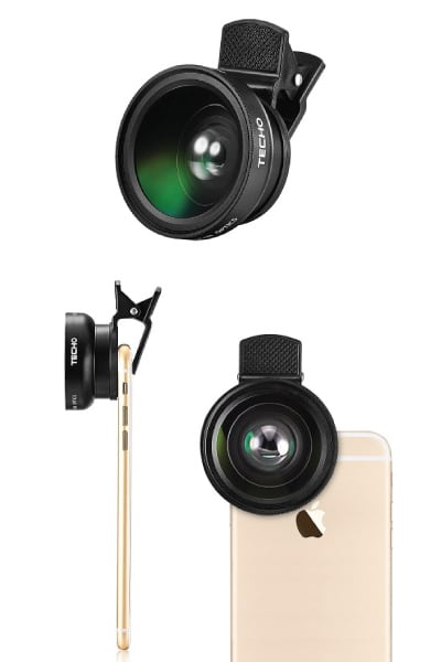 TECHO Universal HD Camera Lens Kit