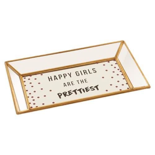 Happy Girls Trinket Tray