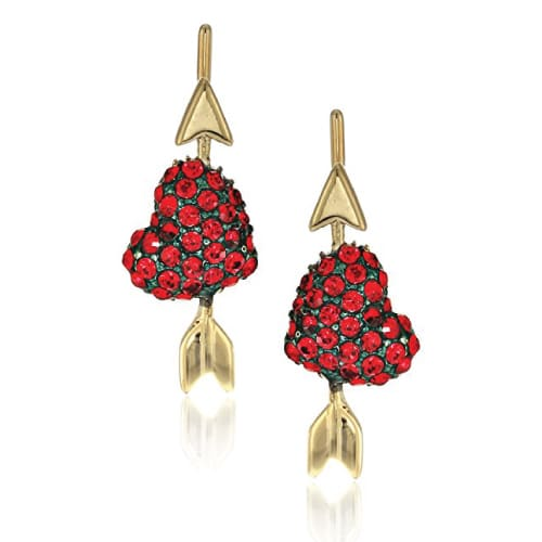 birthday gift ideas for teen girls kate spade heart pins ear cuffs