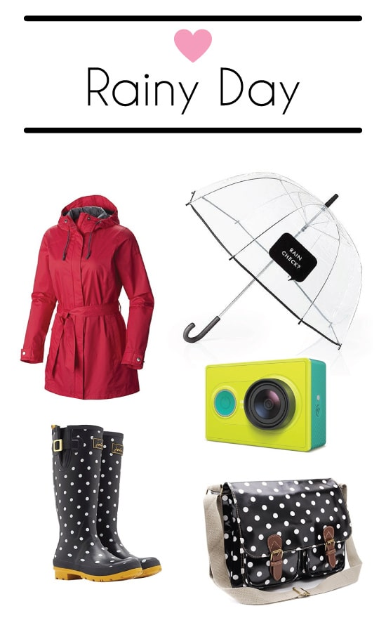 Going out in the rain can be fun and stylish!