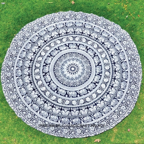 Mandala Round Mat