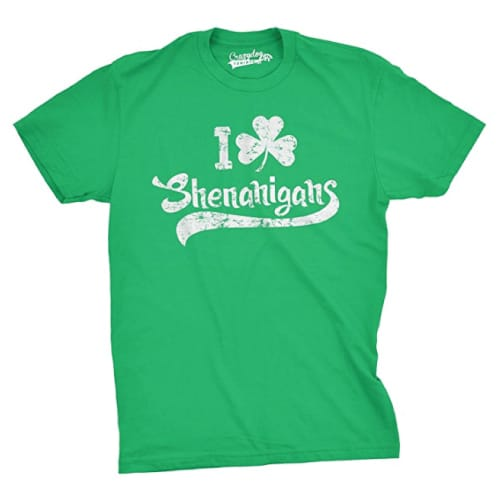 I Clover Shenanigans Funny Shirt