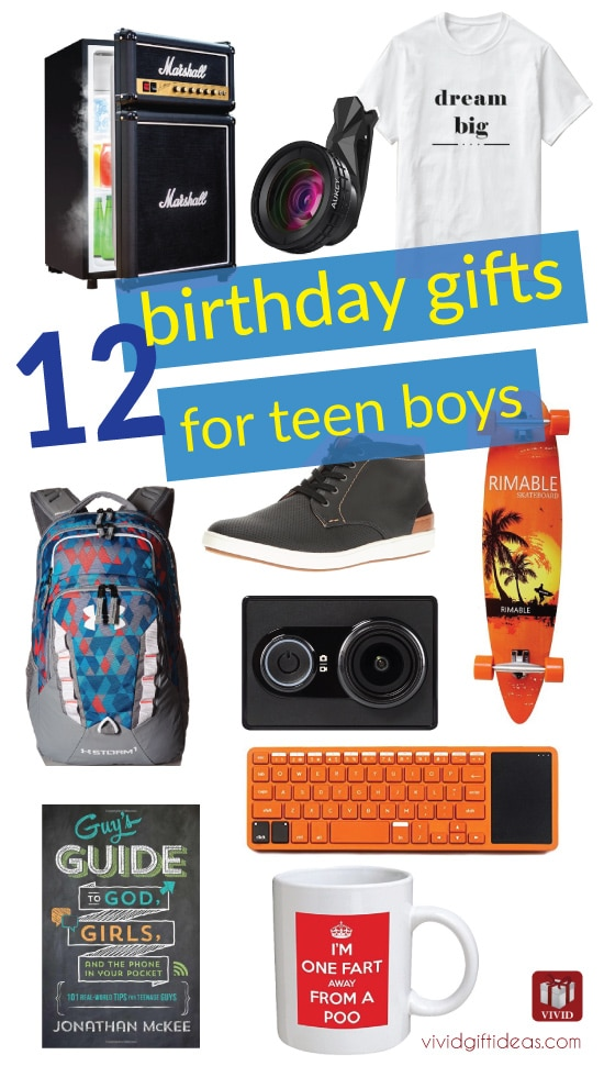 List Of 12 Coolest Birthday Gifts For Teen Guys Vivid S
