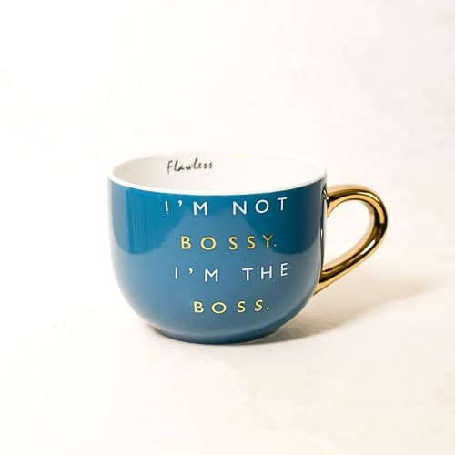 I'm The Bossy Coffee Mug | Mothers Day gifts for grandma