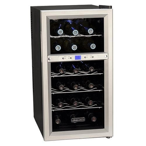 Koldfront Dual Zone Thermoelectric Wine Fridge