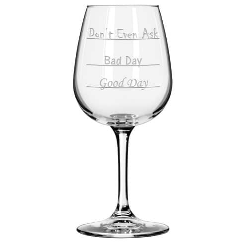 Funny Wine Glass - Funny Cheap Wine Lover Gifts