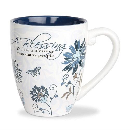 Mark My Words Blessing Ceramic Mug