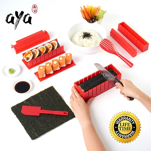 SushiAya Sushi Maker Kit | Gifts for mom