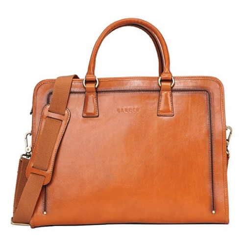 Banuce Women's Leather Briefcase