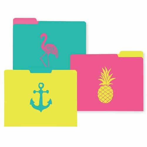 Coastal Design File Folders