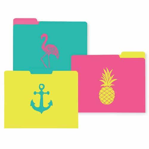 Coastal Design File Folders