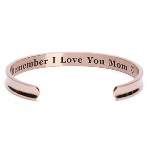 Mom Cuff Bangle | 2017 Mothers Day gifts from kids