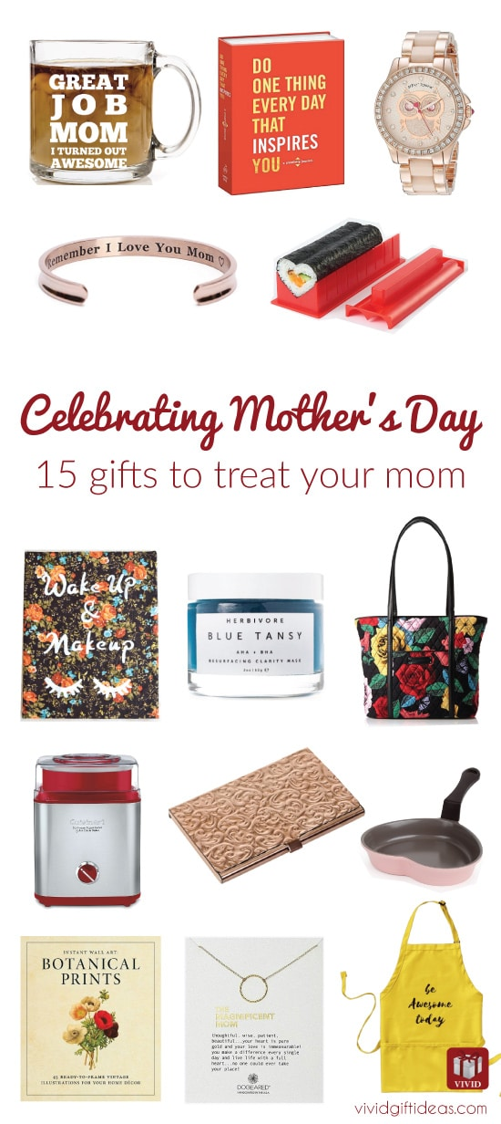 2017 Mothers Day Gift Ideas | Gifts for mom from kids