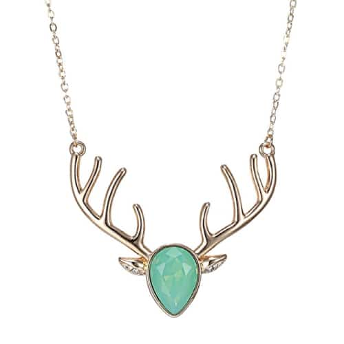 """Oh, Deer"" Statement Necklace 