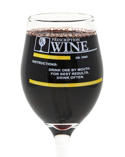 Prescription Wine Glass