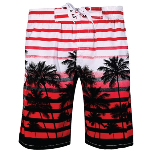 Coconut Tree Board Shorts